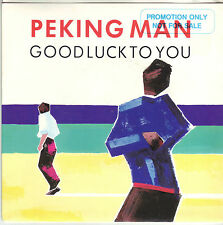 RARE Peking Man Good Luck To You Australian p/s 45 record Margaret Urlich 1986