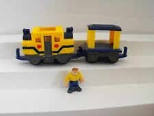 FISHER PRICE GEO TRAX WOOHOO & OPIE THE MOST CONFUSE TEAM PUSH TRAIN    19