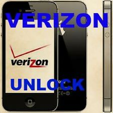 Verizon USA iPhone 4S 5 5S 5C Factory Unlock Service (Clean IMEI Only) INSTANT