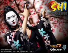 "Phicen 1/6 Scale 12"" SHI in Kimono Female Collector Action Figure (U.S. version)"