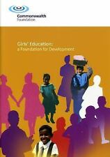 Girls Education: A Foundation for Development, Vocational Guidance, Education, G