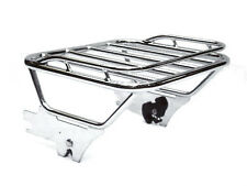 Mutazu Two Up Luggage Rack for Harley Touring Detachable 1997 2008 FLHX FLTR FLH
