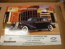 2003 Classic Cars And Trucks Calendar Jim Barnard Chevrolet EX 022117nonjhe