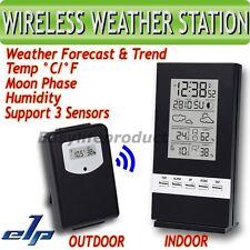 Station Météo sans fil Thermomètre Humidité Température Hygromètre Extérieure °C