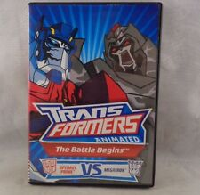 TransformersDVD Animated ~The Battle Begins: Optimus Prime VS Megatron DVD