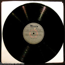 THE PLATTERS-CHRISTMAS WITH THE PLATTERS-2 Sided Metal Acetate Album-MERCURY