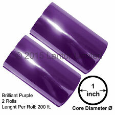 """Hot Stamp Foil Stamping Tipper Kinsley 2Rolls 3""""x200ft Purple #BW88-59E-S2-1""""#"""