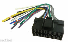 Pioneer 16 PIN WIRING HARNESS CD MP3 PLUG 4 2002 RADIOS FAST FREE USA SHIPPING