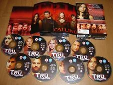 Tru Calling: Fox Series - Complete Seasons 1,2 Collector's Booklet + DVD