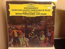 RACHMANINOV symphonic dances MAAZEL DGG LP DIGITAL