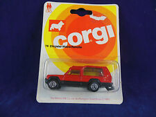 Scarce 1981 Corgi Juniors No 76 Chrysler Matra Rancho in Red (Scarce Colour)