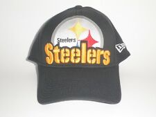 New Era Pittsburgh Steelers EIGHT IN THE BOX Hat Black M/L ($28) Player 39Thirty