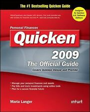 Quicken 2009 The Official Guide (Quicken Press) by Langer, Maria