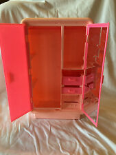 1977 Mattel BARBIE DREAM HOUSE DOLL FURNITURE Armore Wardrobe Closet