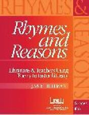 Rhymes and Reasons: Librarians & Teachers Using Poetry to Foster Literacy