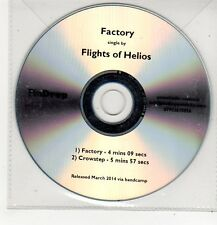 (FF386) Flights of Helios, Factory - 2014 DJ CD