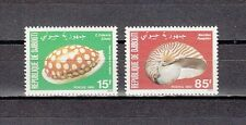 """ Djibouti, Scott cat. 515-516. Sea Shells issue."