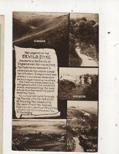 The Legend Of The Devils Dyke Sussex Vintage RP Postcard 691a