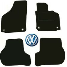 Tailored Deluxe Quality Car Mats Volkswagen Golf Plus 2005-2007 ** Black ** Hatc