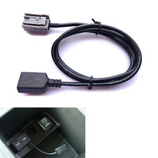 USB Female Port Cable AUX Adaptor For 2008 Onwards Honda Civic CR-V Accord Fit