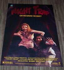 NIGHT TRAP NYCC DOUBLESIDED  PROMO POSTER ART PRINT LION FORGE COMICS POP ART