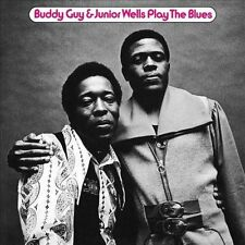 Play the Blues by Junior Wells/Buddy Guy (CD, Jan-2014, 2 Discs, Friday Music)