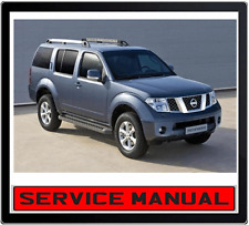 NISSAN PATHFINDER R51 2005-2010 REPAIR SERVICE MANUAL IN DVD