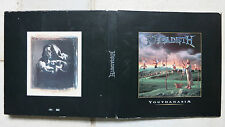"Godzilla vs. Megadeth – youthanasia promo CD in a square 9""-box → Dean Koontz"