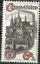 Czech Famous Archtecture Praha Grad stamp 1964 MLH