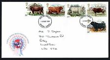 FDC - GB - 1984 CATTLE - ROYAL MAIL - FIRST DAY COVER.