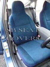 KIA CEE'D / SOUL CAR SEAT COVERS TITANIUM BLUE CLOTH 2 FRONTS