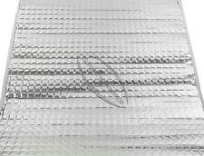 1 x 2m² ALUBUTYL Dämmmatte Anti Dröhn Matte Bitumen-Ersatz Auto Tür Butyl