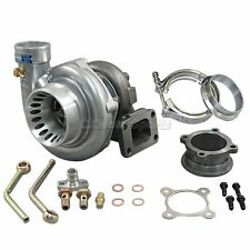 "CXRacing GT35 T3 Turbo Charger Anti-Surge 500+ HP w/ All Accessories 3"" V-Band"
