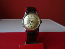 rare vintage SWISS   watch DELBANA 17 JEWELS    1960