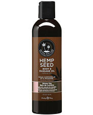 EARTHLY BODY HEMP SEED MASSAGE & BODY 100% NATURAL OIL - Skinny Dip