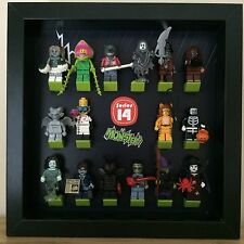 Lego Minifigures Series 14 Monsters Mini Figure Minifig Display Frames Cases Box