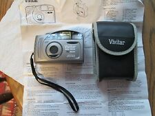 Vivitar Big View BV30 35mm Film Camera Large Viewfinder With Case+Instuctions