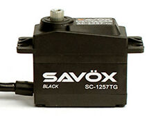 Savox SC1257TG-BE Black Edition Standard Digital Super Speed Titanium Servo