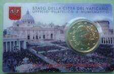 Vatikan 50 Euro Cent Münze 2015 Coincard No.6 Euromünze coin moedas Blister BU