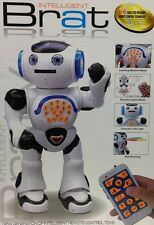 New Intelligent Robot Brat  wiith Remote Control Toy for  Kids gift boys I robot