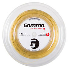 Gamma Live Wire XP 1.32 mm 16 Tennis Stringhe 110m REEL