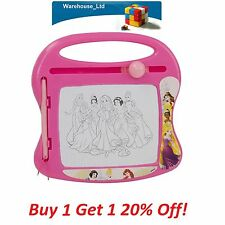 MAGIC WRITER MAGNETIC DRAWING & DOODLE BOARD SKETCH PEN DISNEY PRINCESS