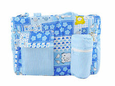 Ole Baby MultiUtility Little Hearts Tote Diaper Bag with 6 Months Brand Warranty
