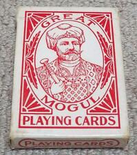 GREAT MOGUL VINTAGE PACK OF BEE 92 PLAYING CARDS - NEW YORK CONSOLIDATED CARD Co