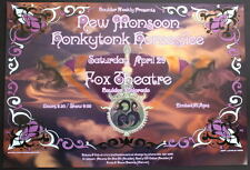 New Monsoon Honkytonk Homeslice Fox Theatre 2006 Original Rare Concert Poster
