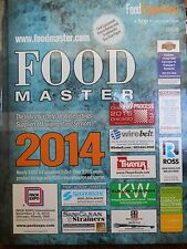 Food Master 2014 A-Z suppliers / manufacturers new hardcover catalog