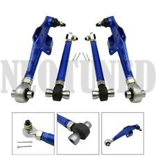 BLUE FITS 95-98 240SX S14 ADJUST FRONT LOWER CONTROL ARM HA HIGH ANGLE TENSION