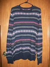 NWT AMERICAN EAGLE MENS SWEATER ATHLETIC FIT SIZE LARGE