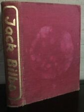 Jack Bilbo an Autobiography. 1948 first edition, illus color plates
