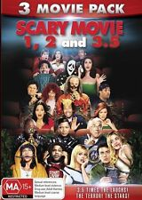 Scary Movie / Scary Movie 2 / Scary Movie 3.5 NEW R4 DVD
